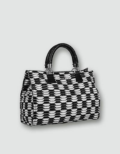 RENÉ LEZARD Damen Tasche schwarz weiß 835088099