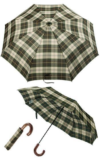 Barbour Telescopic Umbrella tartan UAC0002TN51