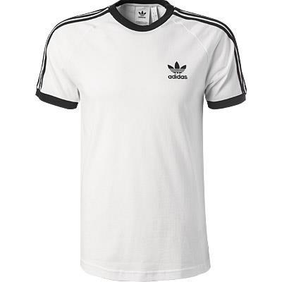 adidas ORIGINALS 3-Stripes T-Shirt white CW1203
