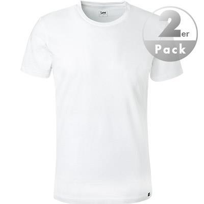Lee T-Shirt 2er Pack weiß L680AI12