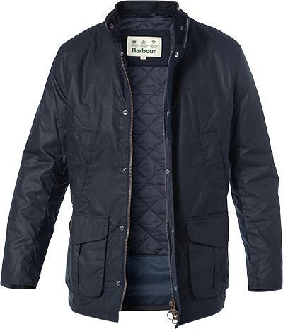 Barbour Jacke Hereford Wax navy MWX1213NY92
