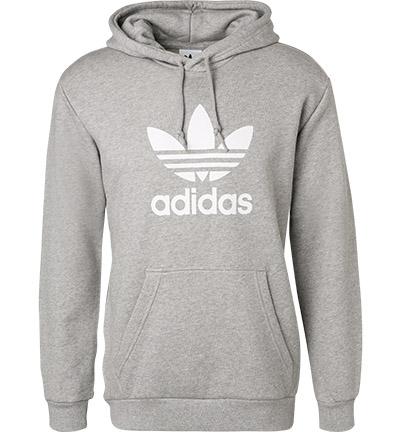 Adidas Hoodie Kapuzen Pullover Größe XL Trefoil schwarz