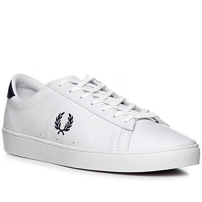 Neue Fred Perry Kingston Twill Textil Schwarz Sneakers