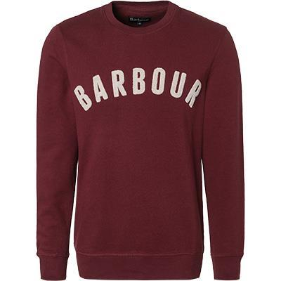 Barbour Sweatshirt Prep Logo Crew ruby MOL0101RE53
