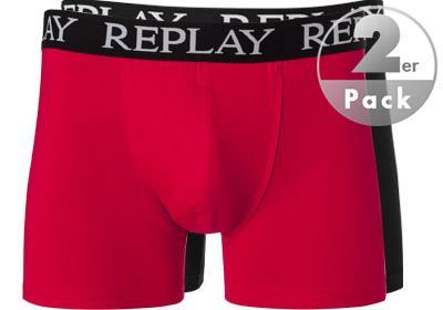 Replay Cotton Stretch Trunk 2er Pack I101005/N093