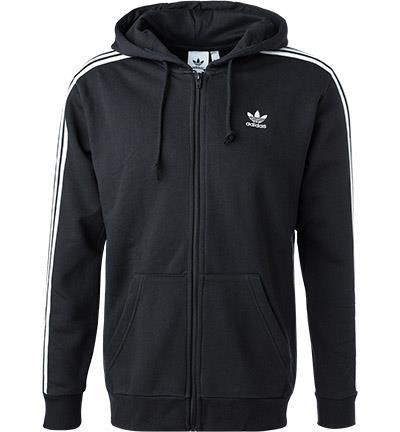 ADIDAS ORIGINALS 3-Stripes Sweatjacke black DV1551