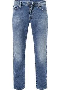 Gas Jeans Herren Hose New Albert Chino, Blau (Wk22