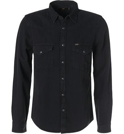 Lee Hemd Western black L643PA01