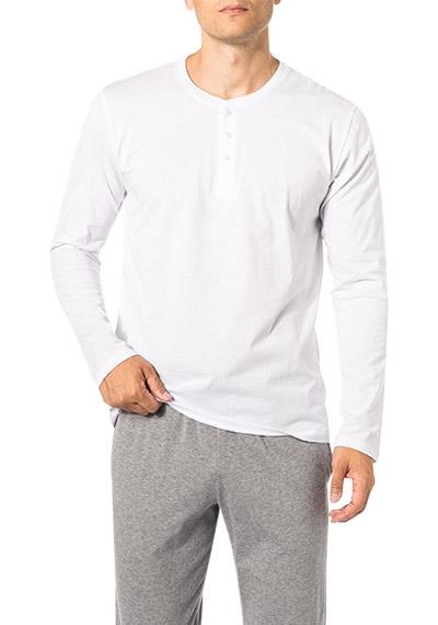 Neu Schiesser Pyjama Langarmshirt Shirt Mix and Relax