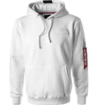 ALPHA INDUSTRIES Red Stripe Hoodie 178314/09