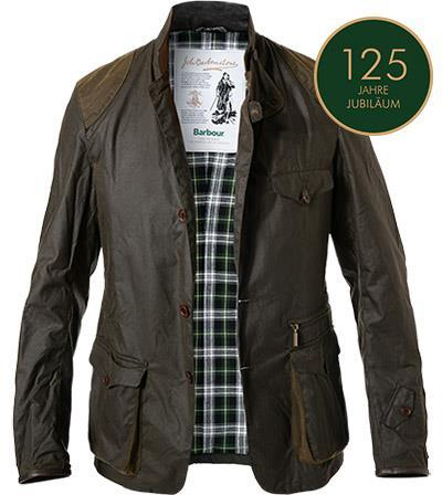 Barbour Icons Bcn Sports Wax olive MWX1578OL71