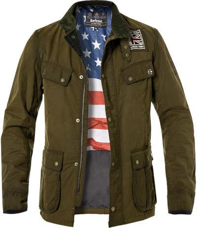 Barbour BI Lester Washed W olive MWX1572OL51