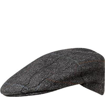 Barbour Cap Crieff charcoal check MHA0009CH52
