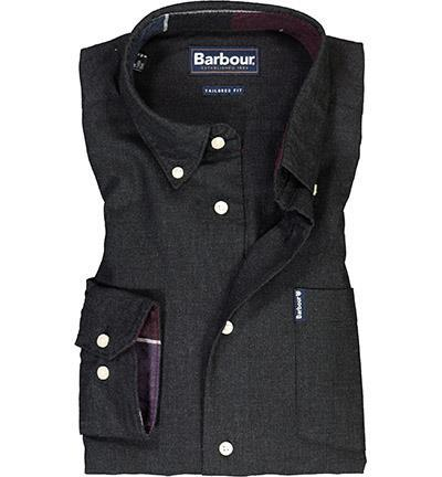 Barbour Hemd Aviemore grey marl MSH4607GY17