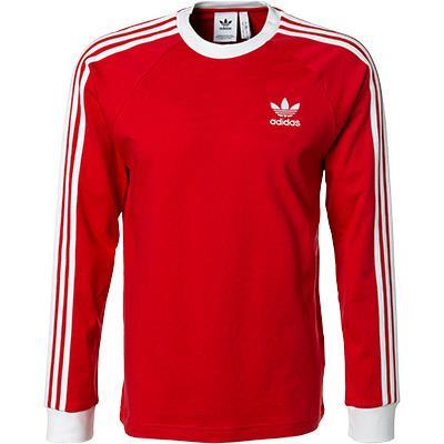 adidas ORIGINALS 3 Stripes Longsleeve red FM3776