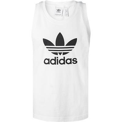 adidas ORIGINALS Trefoil Tank Top white DV1508