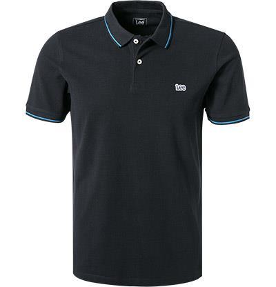 Lee Polo-Shirt black L61ARL01