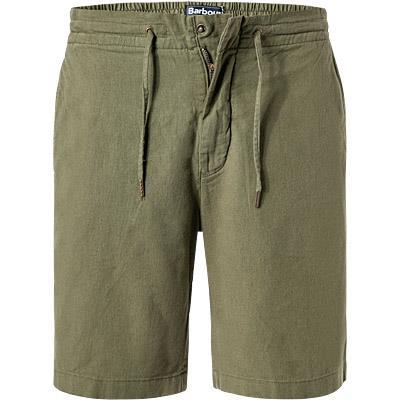 Barbour Shorts Linen military green MTR0613GN58