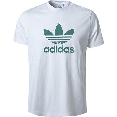 adidas ORIGINALS T-Shirt white-future hydro FM3789