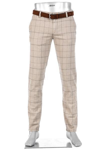 Alberto Regular Slim Fit Lou-J Linen 59871954/085