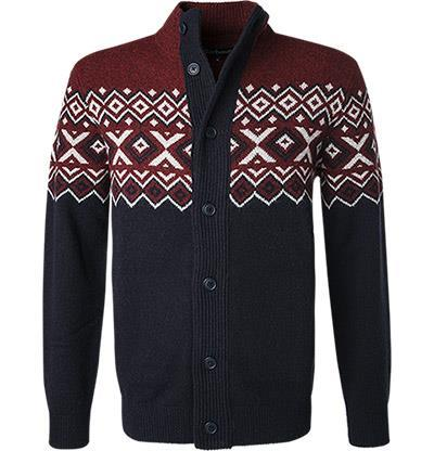 Barbour Cardigan Kirk Butto Thu merlot MKN1273RE94