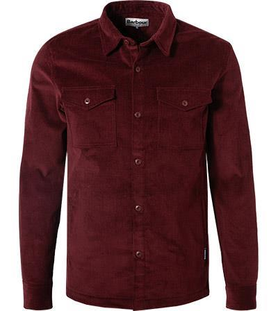 Barbour Overshirt Cord ruby MOS0069RE53