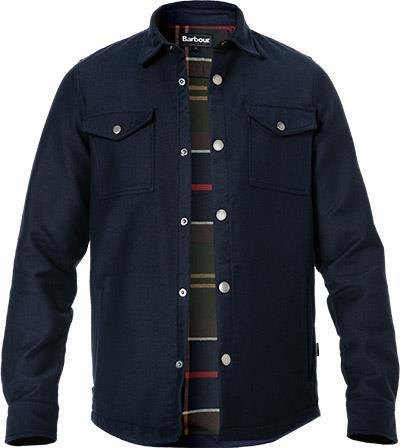 Barbour Overshirt Carrbridge navy MOS0121NY91