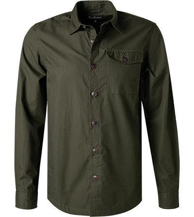 Barbour Durban Overshirt forest MOS0125GN91