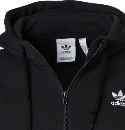 adidas ORIGINALS 3 Stripes Hoodie black ED6050
